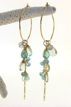 Handcrafted Earrings by Debra Mack Jewelry from Hawaii