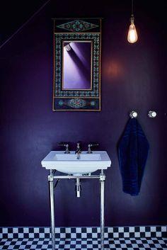 Bathroom pelt Farrow and Ball Beautiful Bathrooms, Shower, Interior Design, Interior Inspiration, Objects, Walls, House, Interiors, Colors