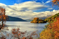 Loch Tay located in Perthshire, Scotland is a magnificent stretch of water, 15 miles (24 km) long and around 508 ft deep.