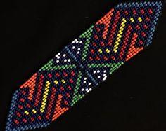 Loom Beading, Bead Patterns, Friendship Bracelets, Etsy, Stitch, Beads, Jewelry, Design, Necklaces