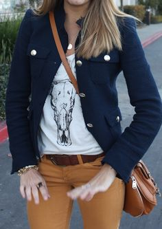 J's Everyday Fashion provides outfit ideas, budget fashion, shopping on a budget, personal style inspiration, and tips on what to wear. Casual Outfits, Cute Outfits, Fashion Outfits, Womens Fashion, Fashion Ideas, Navy Coat, Navy Jacket, Js Everyday Fashion, Work Fashion