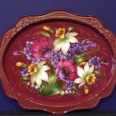 Russian Zhostovo painting