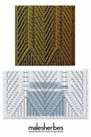 Картинки по запросу схемы узоров спицами