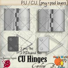 Hinges Templates