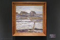 Давид Бурлюк (1882-1967). Деревня весной, 1917-1918. Омский областной музей изобразительных искусств имени М.А. Врубеля