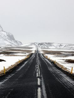 Speedway - Iceland style by Sturturinn on Flickr.Via Flickr:  The best road in Iceland to do what you may not do.