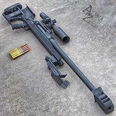50 caliber rifle, my husband's dream gun.