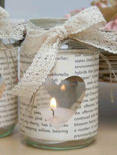 { Conibaers creative desk } Constanzes kreatives B. Pot Mason Diy, Mason Jar Crafts, Bottle Crafts, Christmas Jars, Christmas Crafts, Christmas Decorations, Diy And Crafts, Paper Crafts, Diy Presents