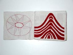 Louise Bourgeois, Ode à l'Oubli, Hand-made cloth book, 2004