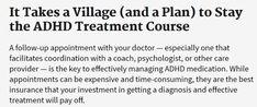 ADHD Prescription Procrastination - Follow Up Appointment: The Secret To Managing ADHD Treatment Holistic Treatment, Adhd Medicine, Types Of Planning, Adhd Medication, American Academy Of Pediatrics, Best Insurance, Adult Adhd