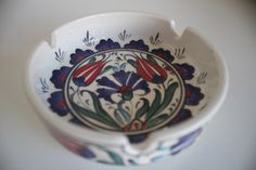 A personal favourite from my Etsy shop https://www.etsy.com/listing/481189533/iznik-design-ashtray-ceramic-ashtray