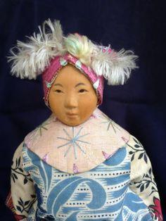 "Antique 6 5"" Door of Hope Girl Child Doll All Original Excellent Condition   eBay"