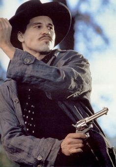 "Val Kilmer as 'Doc Holliday' in ""Tombstone"". He was amazing in this film."