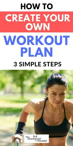Here are 3 insanely simple steps to create your own at home or gym workout routine. It includes the exercises you should choose along with the sets and reps you should do. You will never need another workout plan again. Best Core Workouts, Fit Board Workouts, Fun Workouts, Work Out Routines Gym, Exercise Routines, Leg Training, Strength Training Workouts, Gym For Beginners, Workout Template