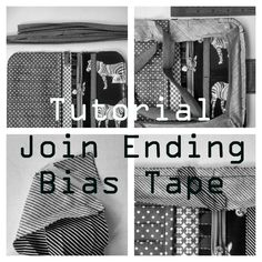 join end bias tape