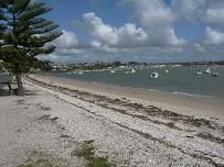 Bucklands Beach, Auckland, New Zealand, My first home as a child, many happy memories on this beach.