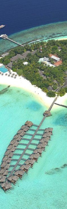 Aerial view,  Maafushivaru Island Resort...Maldives