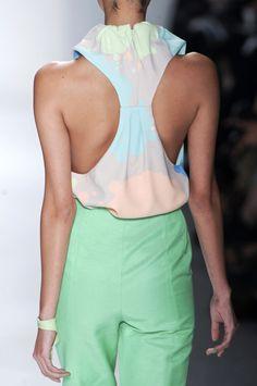 Pastel Pastel Pastel <3      #pastel #fashion #catwalk