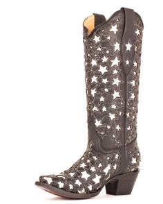 Women's Silver Star Boots - A2040