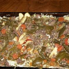 Willy's Hot Beef -- Great dish for game day or for fight night!  http://mantestedrecipes.com/recipe/5804/willy-s-hot-beef.aspx