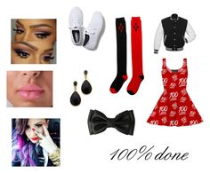 """""""100% done"""" by leahvachliss on Polyvore"""