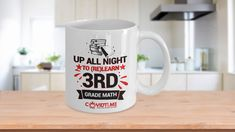 * JUST RELEASED *Up all night to (re)learn 3rd grade mathLimited Time OnlyThis itemis NOT available in stores.Guaranteed safe checkout:PAYPAL   VISA   MASTERCARDClickBUYIT NOWTo Order Yours!(Printed And Shipped From The USA)
