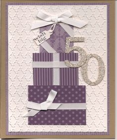 50th birthday card for my sis