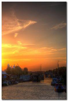 Sunset II Amersfoort Netherlands by Watze D. de Haan