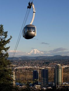 Portland aerial tram (after I have some liquid courage so I'm not as afraid it's going to be the last thing I do EVER)
