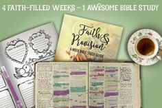 """THE STUDY – March 7th to April 1st """"Faith and provision"""" will run for four consecutive weeks (Mar 7 – April 1, 2016). I'll be posting here on the blog, Mondays and Fridays. Digging into the Word, we'll take a closer look at faith and all of the wonderful things it entails including these topics: - See more at: http://timewarpwife.com/4-faith-filled-weeks-1-awesome-bible-study/#sthash.sLvplGVF.dpuf"""