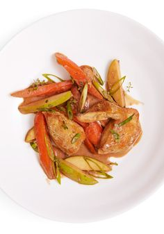 This fabulously simple dish combines boneless chicken breasts, carrots and fresh thyme.