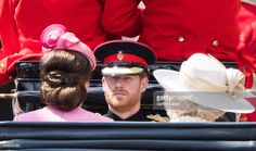 Prince William, Duke of Cambridge rides by carriage during the annual Trooping The Colour parade on June 17, 2017 in London, England.  (Photo by Samir Hussein/Samir Hussein/WireImage)