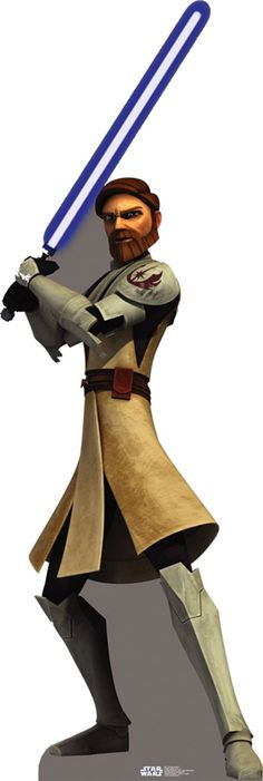 Star Wars: The Clone Wars Obi Wan Kenobi Standup, 86161