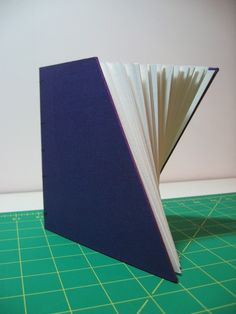 an angular blank book by Josh Hockensmith
