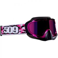pink snowmobile helmets for women | 509 Films Pink Sinister 2 Snowmobile Goggles $79.95 FREE DVD PROMO ...