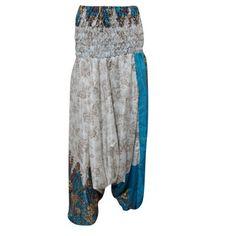 6ead5a7758df Mogul Interior - Mogul Women s Harem Pant Yoga Wear Comfortable Jumpsuit  Casual Dress - Walmart.com