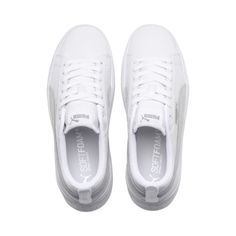 7c977ba4c32ae1 Image 6 of Smash Platform Leather Women s Sneakers