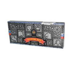 Sai Baba Super Hit Nag Champa Incense - 3.5 oz - Case of 6