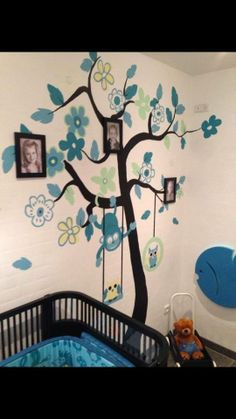 Cool idea with wall decoration and Pictures.