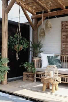 Patio Design, Garden Design, Design Design, Bohemian Porch, Bohemian Living, Balinese Decor, Outdoor Living, Outdoor Decor, Outdoor Patios