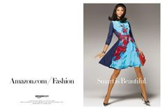 Vintage Luxury: Chanel Iman's '60s-Inspired Amazon Fashion Fall 2012 Campaign