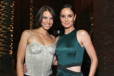 """Actresses Lauren Cohan and Sarah Wayne Callies attend """"The Walking Dead"""" Issue Black-Carpet event powered by Hyundai and Future US at PETCO Park on July 2012 in San Diego, California. Lauren Cohen, Amc Shows, Sarah Wayne Callies, Steven Yeun, Black Carpet, Leighton Meester, Nicole Scherzinger, Kate Hudson, Hottest Pic"""