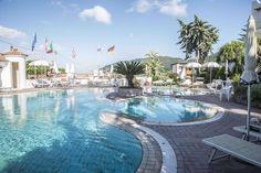 Thermal pool @ Hotel Internazionale Ischia - info@hotelinternazionaleischia.com, Via Acquedotto 33, 80070 Barano d'Ischia NA,  Tel: +39081901315 Outdoor Swimming Pool, Swimming Pools, Thermal Pool, Das Hotel, Island, Outdoor Decor, Water, Outdoor Pool, Swiming Pool