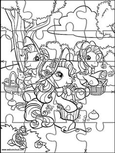 Printable jigsaw puzzles to cut out for kids Animals 21