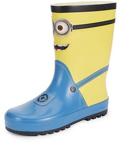 Kids' Despicable MeTM Minion Welly Boots