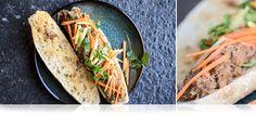 Pineapple Braised Wild Boar Sandwiches