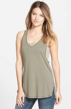 Ten+Sixty+Sherman+Side+Slit+Tank+(Juniors)+(2+for+$28)+available+at+#Nordstrom