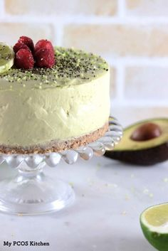 Avocado Cheesecake with Lime