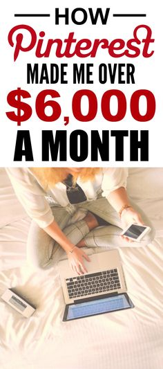 How she made Pinterest her full-time job is the best! I'm so glad I found this SPECTACULAR post! How she was able to work from home and make $6k a year is incredible! Definitely pinning for later!