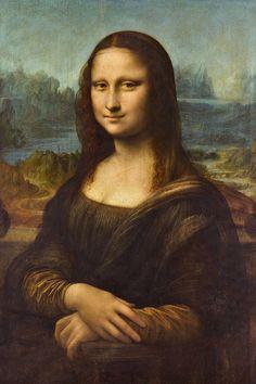 Mona Lisa Classic Leonardo Da Vinci Painting Throw Pillow by Design & Art - Cover x with pillow insert - Indoor Pillow Most Famous Paintings, Famous Artwork, Famous Artists, Lisa Gherardini, Art Du Monde, Renaissance Kunst, Renaissance Paintings, Art Terms, Classical Art